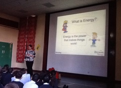Bryson Energy assembly for P6 and 7.