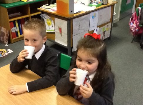 We wrote about making hot chocolate.